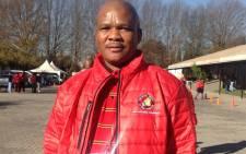 NUM general secretary David Sipunzi. Picture: Supplied.