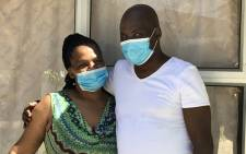 Nceba Simayile (50) can't recall much of the time spent in hospital, but he's got high praise for the staff who worked tirelessly to save his life. Picture: Supplied