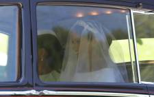 FILE: Meghan Markle arrives at the Windsor Castle for her wedding with Prince Harry. Picture: AFP.