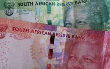 An image showing a South African 50 and 10 Rand note, Johannesburg, South Africa, 27 August 2015. The South African Rand has devalued against the USD and Euro as the country struggles with power outages and poor growth. Picture: EPA/KIM LUDBROOK