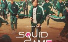 The poster for the Korean series 'Squid Game' on Netflix. Picture: @netflix/Twitter