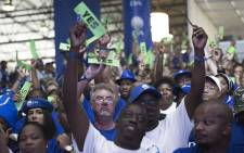 Democratic Alliance members during the voting session on policies on at the party's elective congress 8 April 2018. Picture: Sethembiso Zulu/EWN.