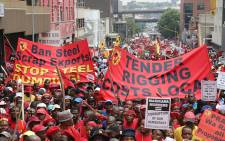 FILE: Numsa's fate was sealed with an overwhelming vote in favour of making its expulsion final. Picture: Vumani Mkhize/EWN.