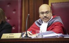 FILE: Judge Siraj Desai in the Western Cape High Court. Picture: Cindy Archillies/EWN