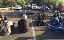 Students at the University of Cape Town vowed to protest further until university management listen to their concerns regarding fee hike. Picture: Natalie Malgas/EWN.