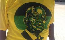 FILE: An ANC supporter wearing the party's regalia on 16 April, 2016 at Nelson Mandela Bay Stadium. Picture: Rahima Essop/EWN.
