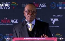 FILE: A screengrab picture of Prasa chairman, Popo Molefe.