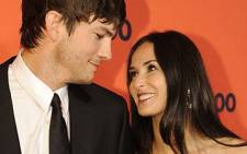 This May 4, 2010 file photo shows actors Ashton Kutcher and Demi Moore attending Time's 100 Most Influential People in New York. Picture: AFP