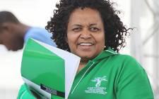 Water Affairs Minister Edna Molewa