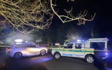Police at the Scottsville shootout in Pietermaritzburg. Picture: Nkosikhona Duma/Eyewitness News.