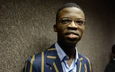 Takalani Bambela, South Africa top maths matric student for 2017. Picture: Ihsaan Haffejee/EWN