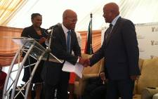 Justice Minister Jeff Radebe launched the Tsakane Magistrates Court on 8 March 2013. Picture: Theo Nkonki/EWN""