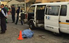 A taxi driver has been killed in Lavender Hill amid ongoing taxi feud, even though police remained mum on whether the killing could be related to the taxi war in Vrygrond. Picture: Thomas Holder/EWN.