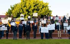 Cornwall Hill schoolchildren protested for transformation and an end to racism at the prestigious institution in May 2021. Picture: Facebook/cornwallhill