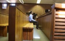 Convicted rapist Sipho' Brickz' Ndlovu seen in the the Roodepoort Magistrates Court ahead of sentencing proceedings, on 17 October 2017. Picture: Christa Eybers/EWN.