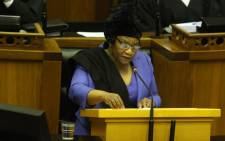 FILE: National Assembly Speaker Thandi Modise. Picture: @ParliamentofRSA/Twitter