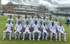 The West Windies team preparing for the 3rd and final Test against England. Picture: @westindies.
