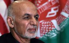 FILE: Afghan's President Ashraf Ghani on 28 November 2019 in Afghanistan. Picture: AFP