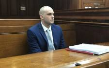 Murder accused Henri van Breda in the Western Cape High Court on 12 February 2018. Picture: Monique Mortlock/EWN