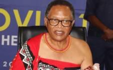 eSwatini acting Prime Minister Themba Masuku. Picture: @SwaziNews/Twitter.