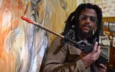 Artist Ayanda Mabulu says SA can bring about change through art and not weapons. Picture: EWN