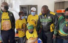 ANC President Cyril Ramaphosa led the party's local government elections campaign trail in Dr WB Rubusana Region, in the Eastern Cape on 2 October 2021. Picture: ANC