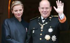 FILE: Prince Albert II of Monaco and Princess Charlene of Monaco. Picture: AFP.