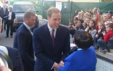 British royal Prince William. Picture: EWN