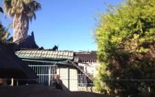 Two children died when their home in Montana, in northern Pretoria, caught fire. Picture: Barry Bateman/EWN