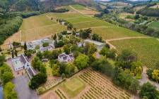 The 329-year-old Morgenhof wine estate in the Stellenbosch region of the Western Cape was sold last week via virtual livestream by High Street Auctions for a hammer fall price of R52.25 million. Picture: property24.com/