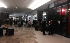 The numbers continue to increase with fans queing outside Computicket outlets in JHB and CT. Picture: Sebabatso Mosamo/EWN