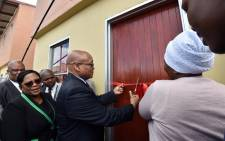 FILE: President Jacob Zuma officially opening the N2 Gateway Integrated Human Settlements Development at the Joe Slovo housing project in Cape Town. Picture: GCIS.