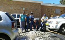 Hermanus SAPS confiscated large quantity abalone and abandoned vehicle on N2 in Grabouw.  Picture: @SAPoliceService.