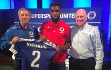 Supersport United have announced the signing of Tefu Mashamaite on a two year contract. Picture: @OfficialPSL.