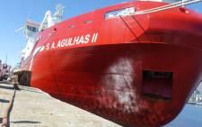 SA Agulhas II. Picture: GCIS.