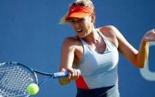 FILE: Maria Sharapova has moved up to No.2 in the world rankings on Sunday. Picture: @USOpen