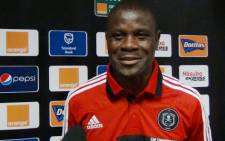 Orlando Pirates captain Lucky Lekgwathi. Picture: Wesley Petersen/EWN.