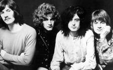 Led Zeppelin. Picture: AFP.