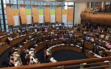 FILE: Cape Town councillors in the Cape Town council met on Thursday 29 April for the first sitting of the New Year. Picture: Xolani Koyana/EWN.