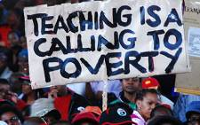 The South African Democratic Teachers Union are unhappy with government's revised wage offer.