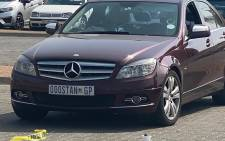 The scene where Stanley Khanyile was gunned down. Picture: Supplied.