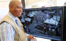 Herman Mashaba at Vilakazi Street after implementing tough security measures. Picture: Christa Eybers/EWN