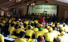 ANC members attend a provincial general council. Picture: @MYANC/ Twitter