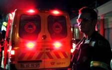 FILE: One of the paramedics was stabbed and their vehicle vandalised. Picture: EWN.