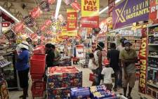 Customers shopping at Shoprite Diepsloot on Black Friday on 27 November 2020. Picture: Abigail Javier/EWN
