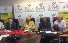 FILE: CRL Rights Commission. Picture: EWN