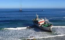 The Eihatsu Maru. Picture: Aletta Gardener/EWN