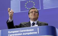 European Union Commission President Jose Manuel Barroso. Picture: AFP.