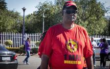 FILE: Members of the South African Federation of Trade Unions (Saftu) are heading into the streets on Wednesday morning, to voice their anger at a number of economic challenges the country faced. Picture: Eyewitness News