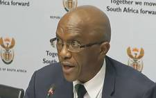 A screengrab of Auditor-General Kimi Makwetu.